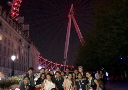 LONDON EYE @ NIGHT